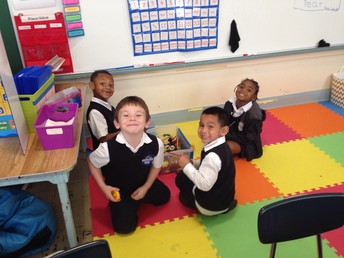 Centers in Kinder