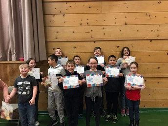 4th-6th achievement awards