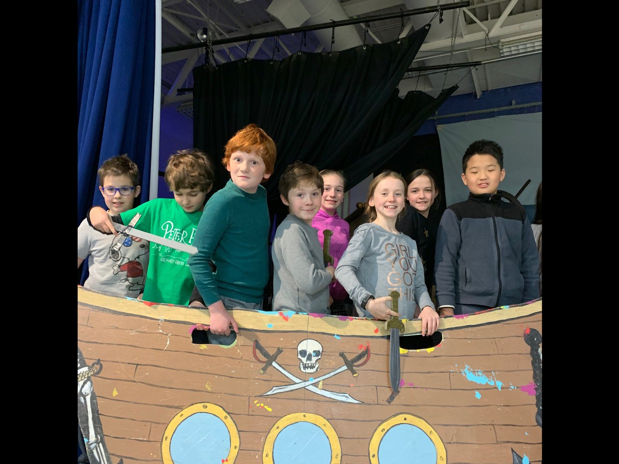 The Pirates at Rehearsal