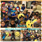 Kinder Bright Summer Readers