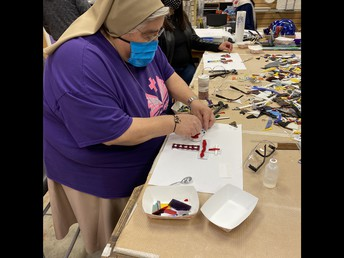 Sr. Mary Lou Stained Glass Project