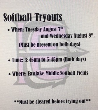 Softball Try-outs