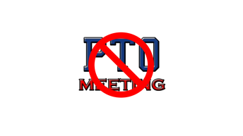 NO PTO Meeting in December