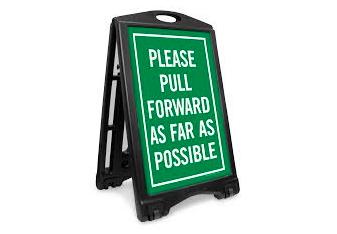 Carpool Line Reminders