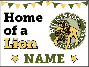 Wilkinson Yard Sign