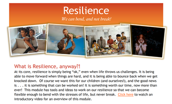 InPACTatHome Family Engagement Module: Resilience