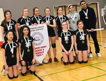 Grade 8 Girls Volleyball
