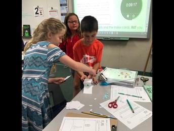 4th Grade Mrs. Boiles STEAM Inspired Activity