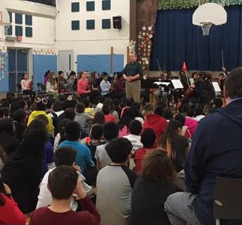 Roton Orchestra Visits