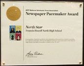 North Star Wins Pacemaker!  Wow!