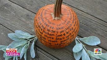 First Stop: Gratitude Pumpkins
