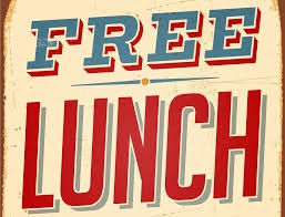 Free Lunch 12-1pm Monday - Friday