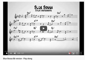 Bossa Bb Play Along