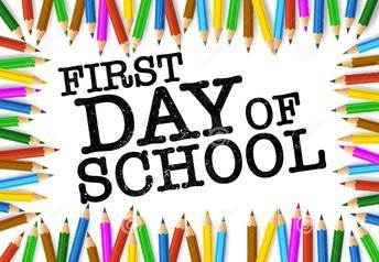 First Day of School    Primer día de clases