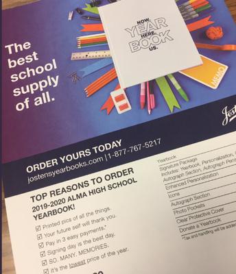 Get your 2019-20 AHS Yearbook: