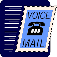 Please check your voicemail!