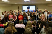 MHS Welcomes German Exchange Students from our sister city -- Hockenheim, Germany