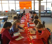 6th Grade Goes Speed Dating...With Some Spicy Non-Fiction Titles!