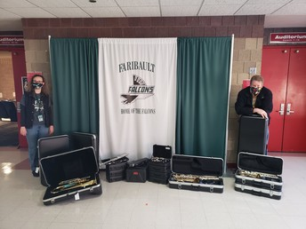 FMS staff efforts lead to 20 new instruments for students
