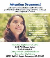 DACA Informational Forum