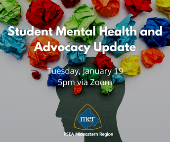 Student Mental Health and Advocacy Update
