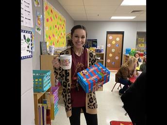 Ms. Davenport, Prize Winner!