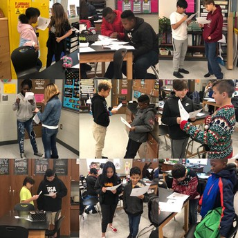 6th grade Science integrated an information text activity today. #lmmsrocks #readinginscience