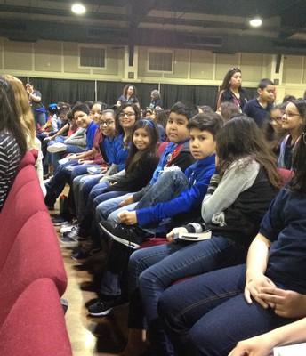 Palacios student audience