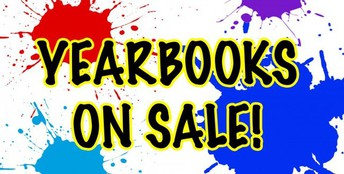 Yearbooks on Sale until June 9, 2018
