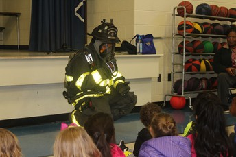 Don't be Afraid of our Firemen!  They are here to help!