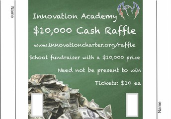 What about the $10,000 raffle?