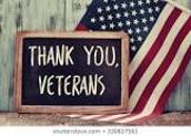 Veteran's Day Assembly-Monday November 11th at 9:15 am