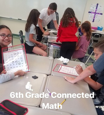 6th Grade Connected Math Project