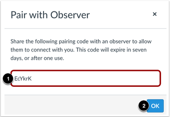 observer code graphic
