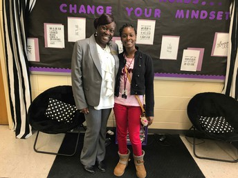 Mikayla Walker and Dr. Quichocho