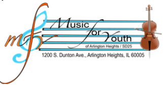 Music for Youth Registration