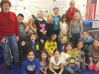Golden Bear 2nd grade Mrs. Martin's Class