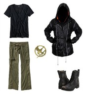 Katniss Clothing in the Arena