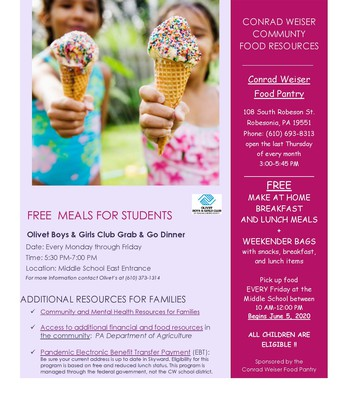 Summer Food Options for Families