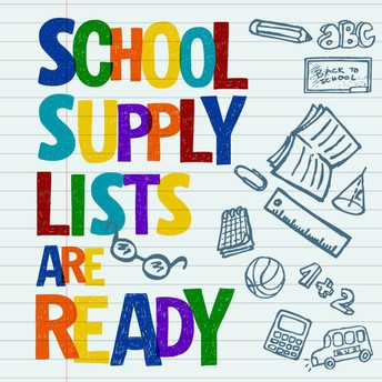 School Supply Lists are ready!