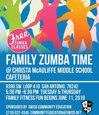 Family Zumba Time!