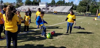 Kicking a Goal!