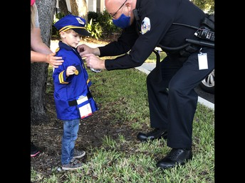 Policeman for a day