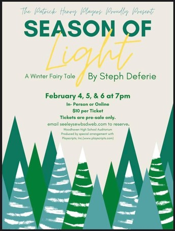 THE PHMS PLAYERS PROUDLY PRESENT: SEASON OF LIGHT (A WINTER FAIRY TALE)