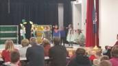 Kindergarteners can perform!