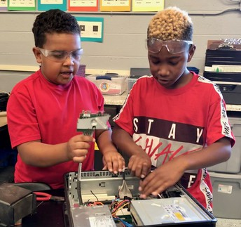 4th Grade Machine Dissection
