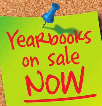 Yearbooks - DON'T MISS OUT!