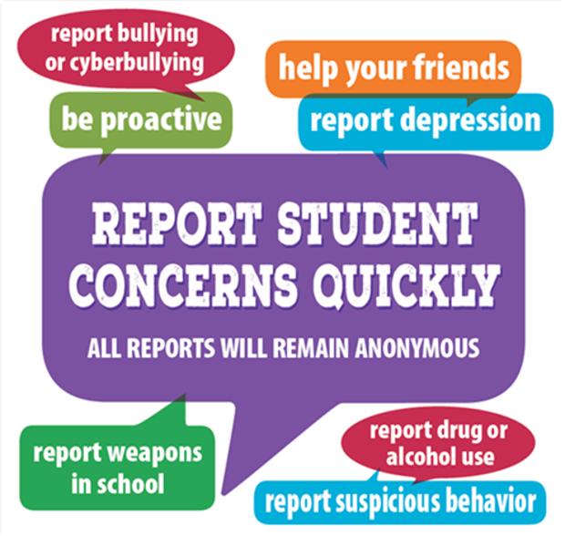 Report Student Concerns banner
