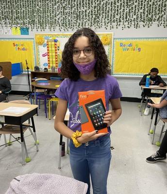 4th Grade Fire Tablet Winner