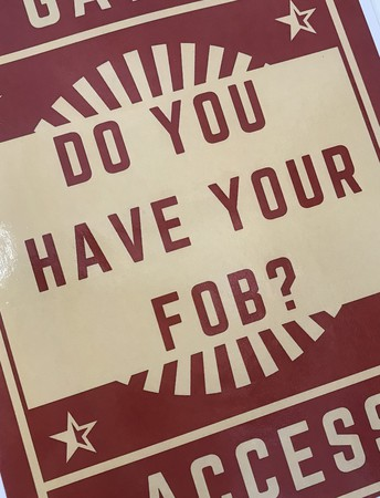 Get your Fob!